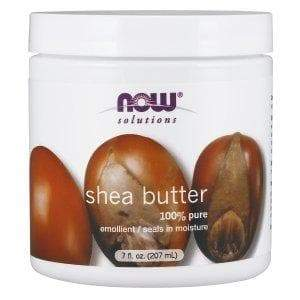 Now Foods, Solutions, Shea Butter, 7 fl oz (207 ml) - BeeGreen