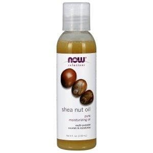 Now Foods, Solutions, Shea Nut Oil, Pure Moisturizing Oil, 4 fl oz (118 ml) - BeeGreen