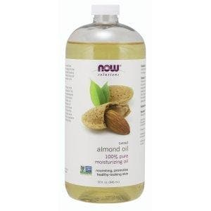 Now Foods, Solutions, Sweet Almond Oil, 32 fl oz (946 ml) - BeeGreen
