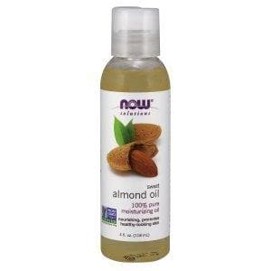 Now Foods, Solutions, Sweet Almond Oil, 4 fl oz (118 ml) - BeeGreen