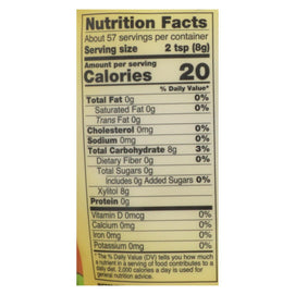 Now Real Food Xylitol - 1 Each - 1 Lb - BeeGreen