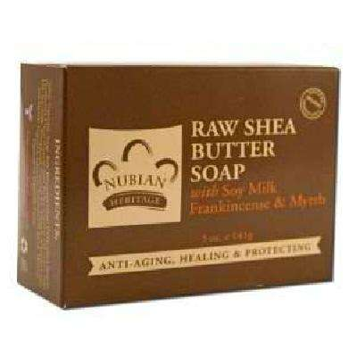 Nubian Heritage Raw Shea Butter Soap (1x5OZ ) - BeeGreen