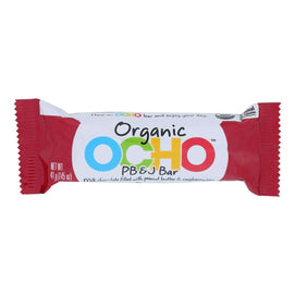 Ocho Candy - Candy Bar Peanut Butter And Jelly - Case Of 12-1.45 Oz - BeeGreen