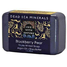 One With Nature BlackBerry Pear Soap (1x7OZ ) - BeeGreen