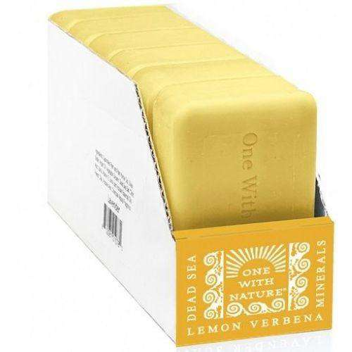 One With Nature O.W.N. Lemon Verbena Bar Soap (6X4 OZ) - BeeGreen