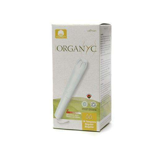 Organyc Cotton Tampons - Regular Apple - 16 Pack - BeeGreen