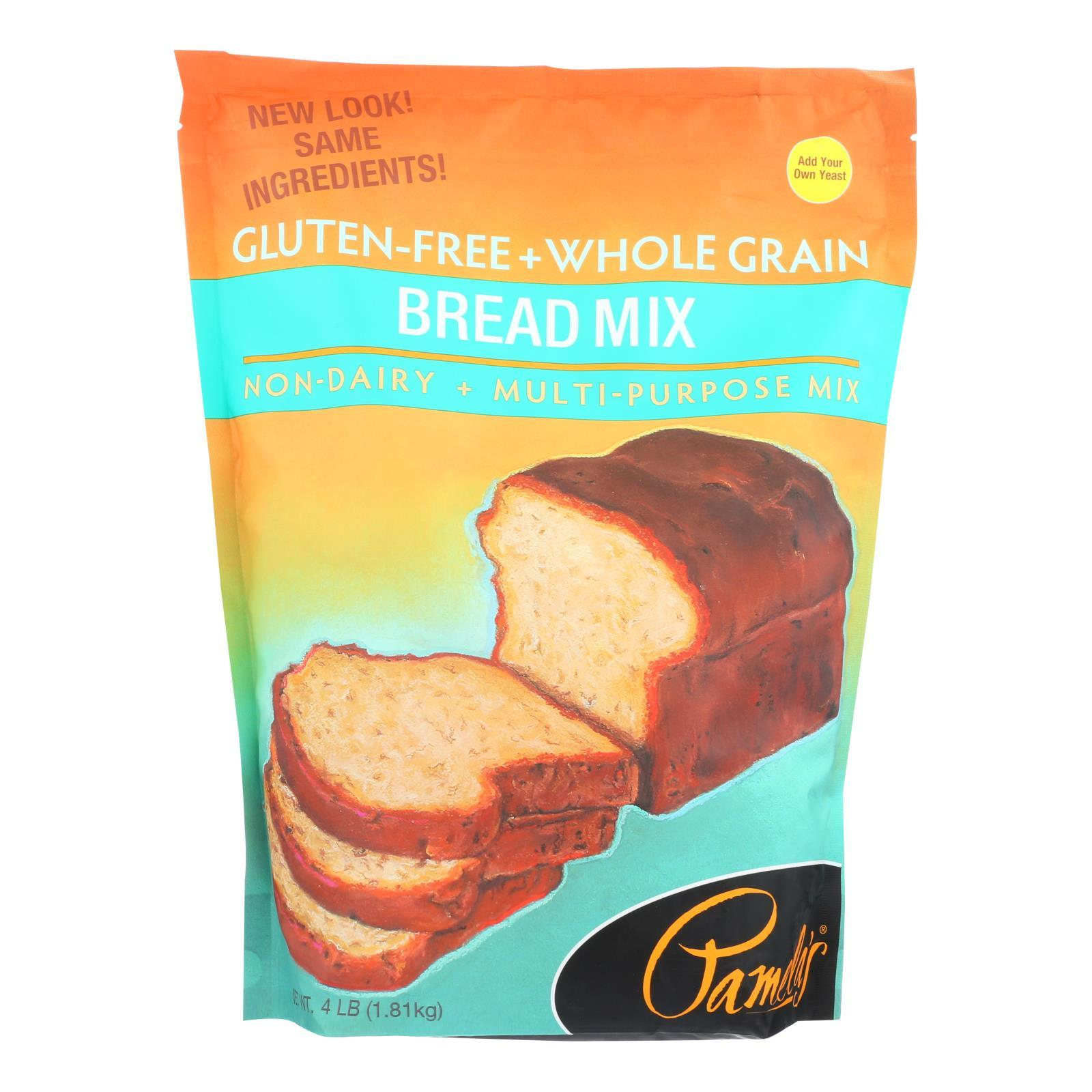 Pamela's Products - Bread Mix - Case Of 3 - 4 Lb. - BeeGreen