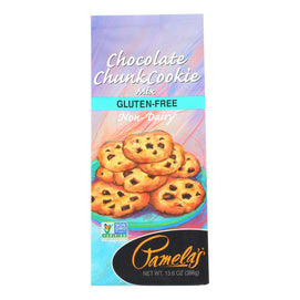 Pamela's Products - Chocolate Cookie Mix - Chunk - Case Of 6 - 13.6 Oz. - BeeGreen
