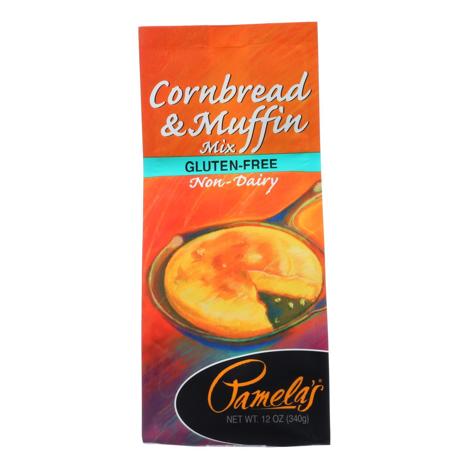 Pamela's Products - Cornbread And Muffin - Mix - Case Of 6 - 12 Oz. - BeeGreen