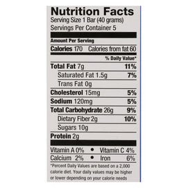 Pamela's Products - Oat Whenever Bars - Blueberry Lemon - Case Of 6 - 1.41 Oz. - BeeGreen