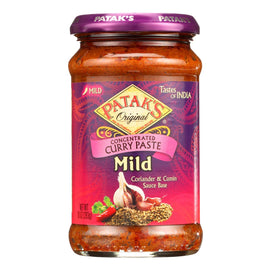 Pataks Spice Paste - Mild Curry - Mild - 10 Oz - Case Of 6 - BeeGreen