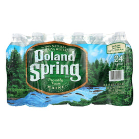 Poland Spring Water - Case Of 1 - 0.5 Liter - BeeGreen