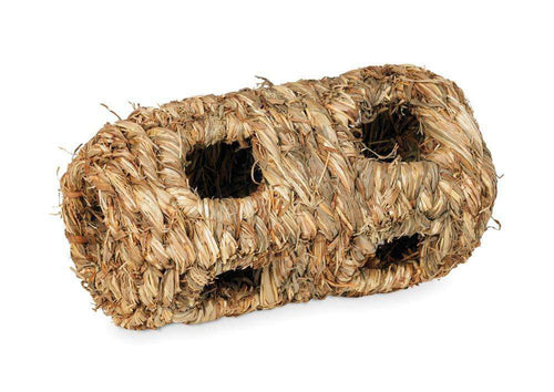 Prevue Pet Products Grass Tunnel with 10 holes Small - BeeGreen
