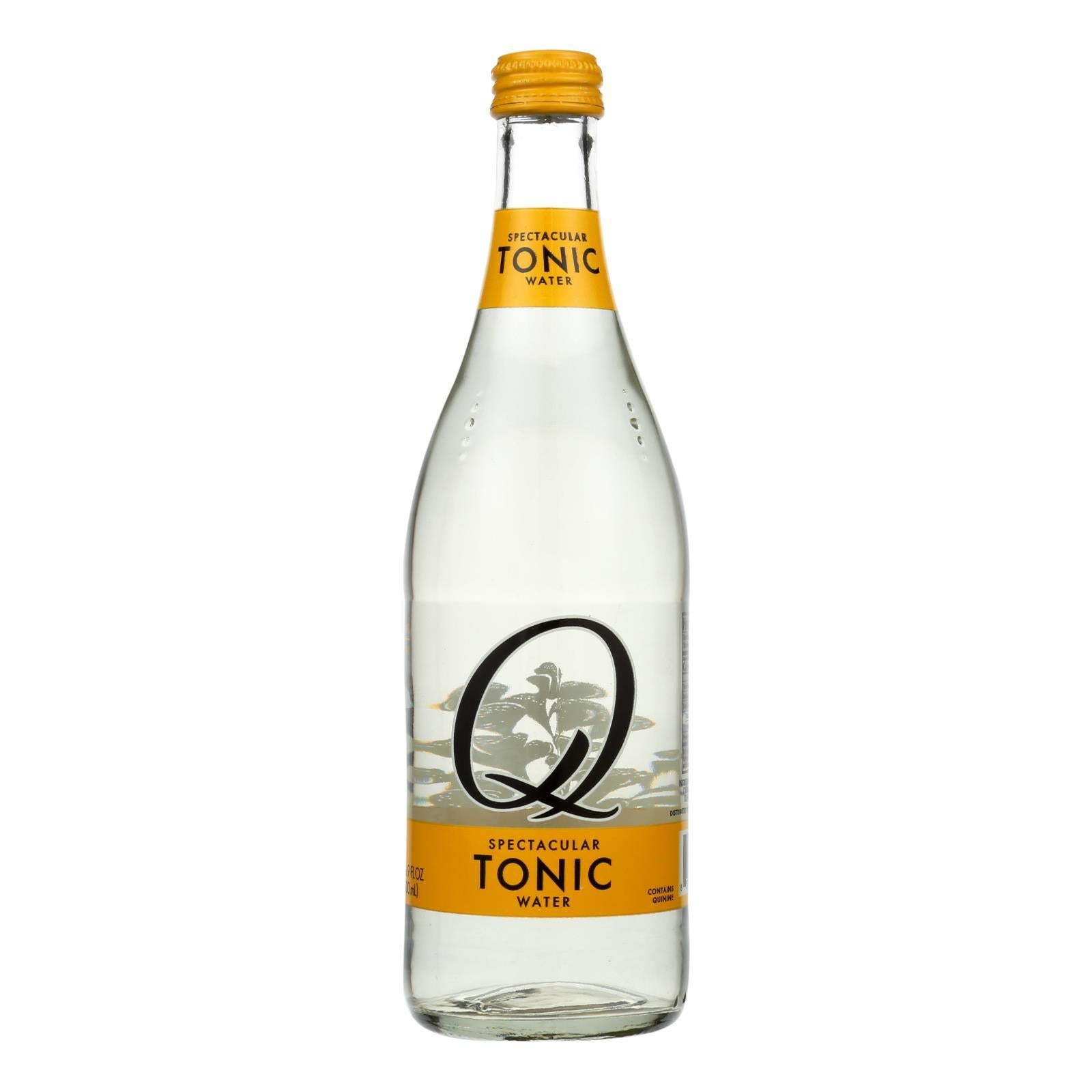 Q Drinks Tonic Water - Case Of 6 - 16.9 Fl Oz - BeeGreen