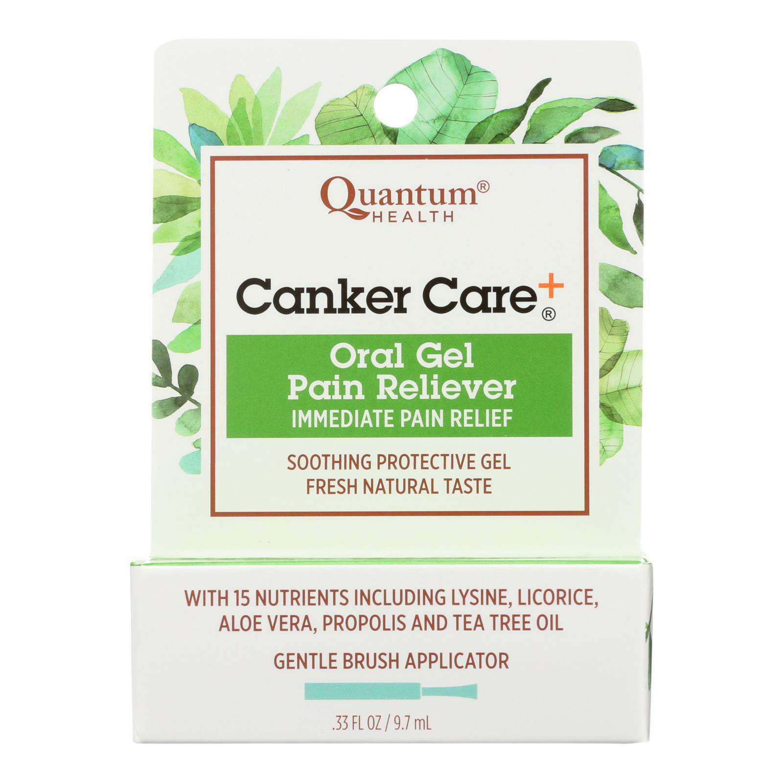 Quantum Canker Care Plus Gel - 0.33 Oz - BeeGreen