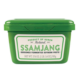 Roland Ssamjang - Seasoned Fermented Soybean Paste - Case Of 12 - 17.6 Oz. - BeeGreen