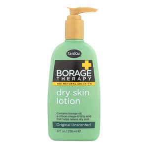 Shikai Borage Therapy Dry Skin Lotion Unscented - 8 Fl Oz - BeeGreen