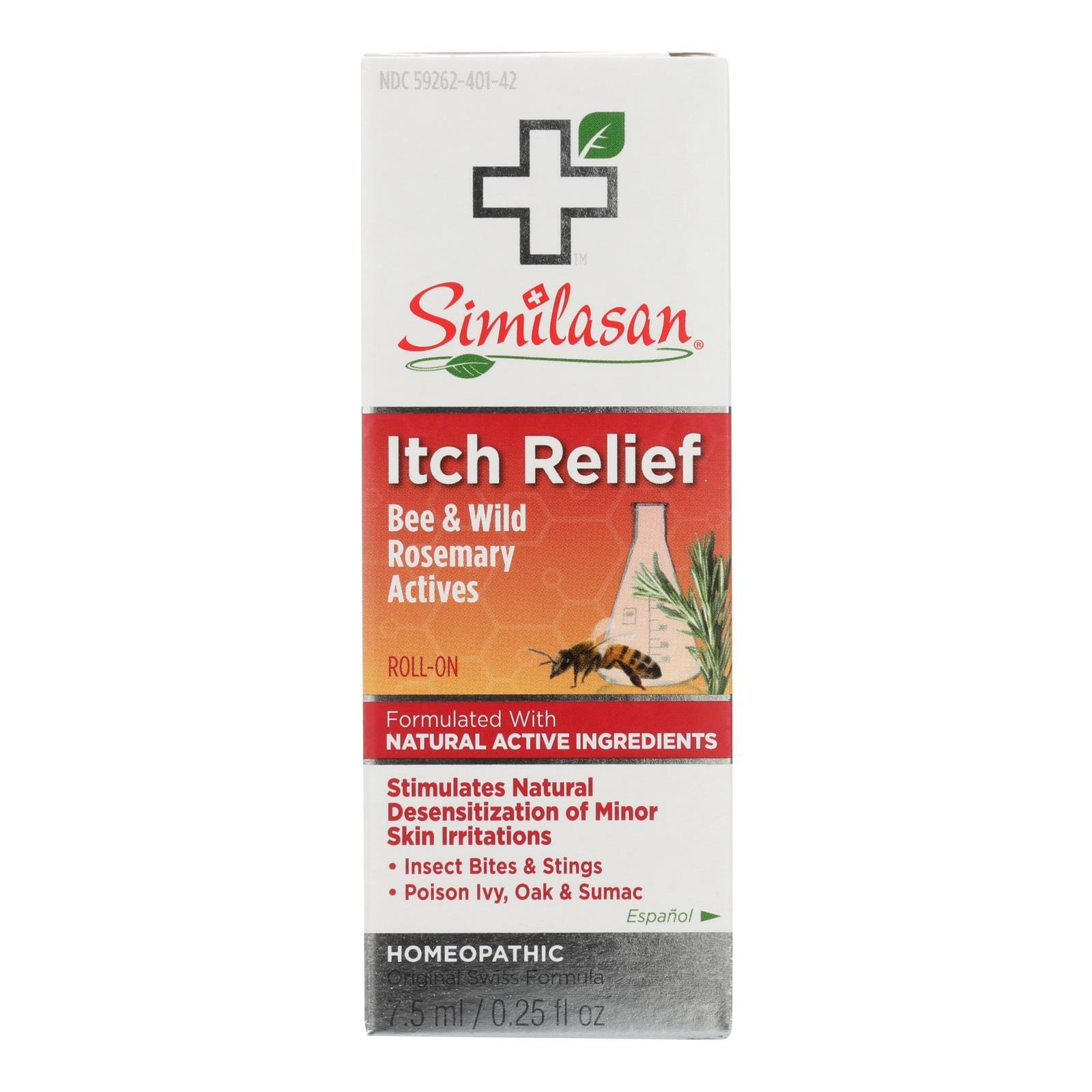Similasan Itch Relief Roll On - 0.25 Fl Oz. - BeeGreen