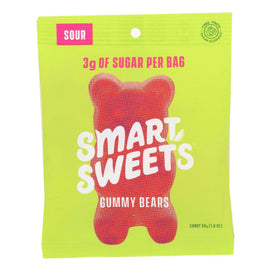 Smartsweets - Gummy Bear Sour - Case Of 12 - 1.8 Oz - BeeGreen
