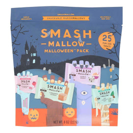 Smashmallow - Malloween Variety Pack - Case Of 8 - 8 Oz. - BeeGreen