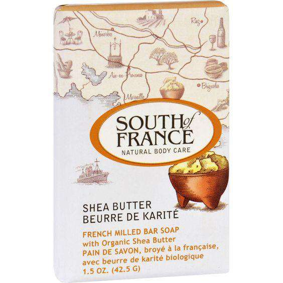 South of France Bar Soap Shea Butter (1x6 OZ) - BeeGreen