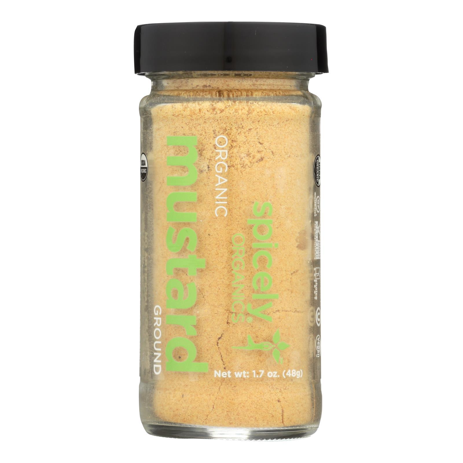 Spicely Organics - Organic Mustard - Ground - Case Of 3 - 1.7 Oz. - BeeGreen