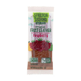 Stretch Island Fruit Leather Strip - Ripened Raspberry - .5 Oz - Case Of 30 - BeeGreen