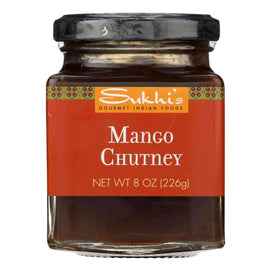 Sukhi's Gourmet Indian Food Chutney - Mango - Case Of 6 - 8 Oz. - BeeGreen
