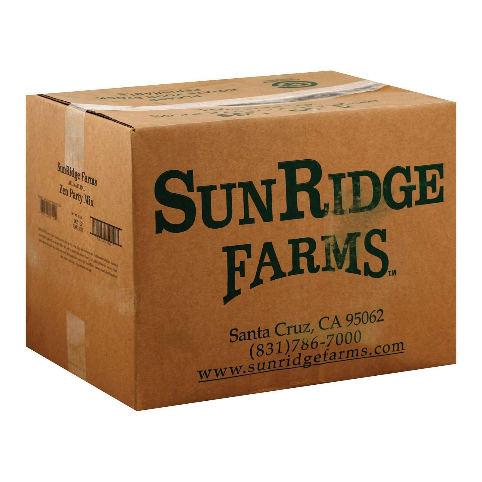 Sunridge Farms All Natural Zen Party Mix - 25 Lb. - BeeGreen