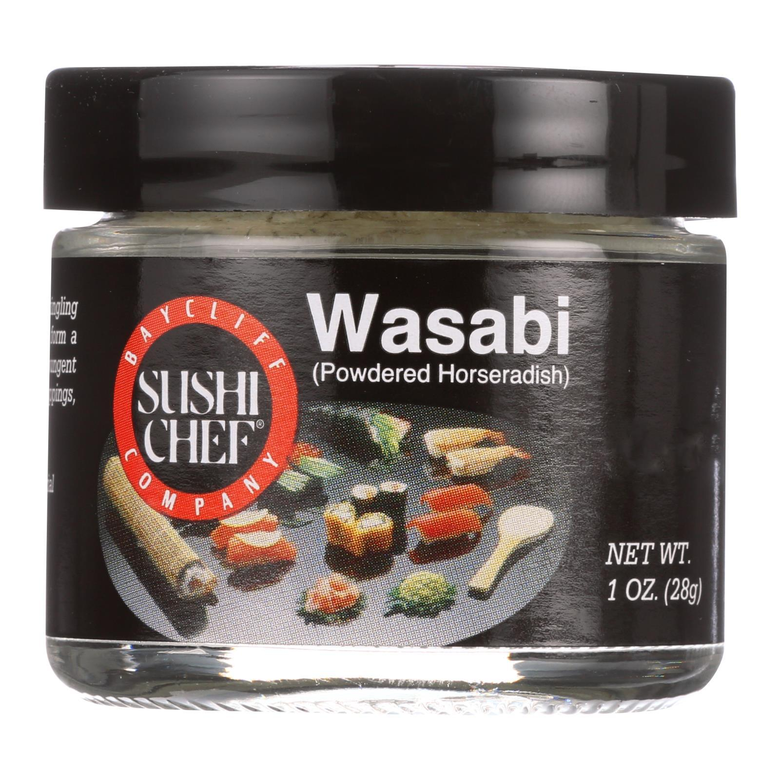 Sushi Chef Powder - Wasabi - Powdered - 1 Oz - Case Of 6 - BeeGreen