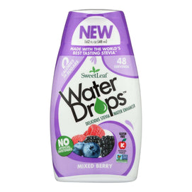 Sweet Leaf Water Drops - Mixed Berry - 1.62 Fl Oz - BeeGreen