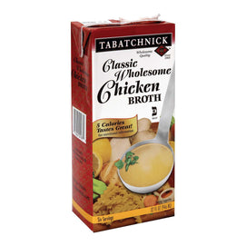 Tabatchnick Classic Wholesome Chicken Broth - Case Of 12 - 32 Fl Oz. - BeeGreen