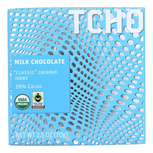 Tcho Chocolate Milk Chocolate Bar - Classic - Case Of 12 - 2.5 Oz. - BeeGreen