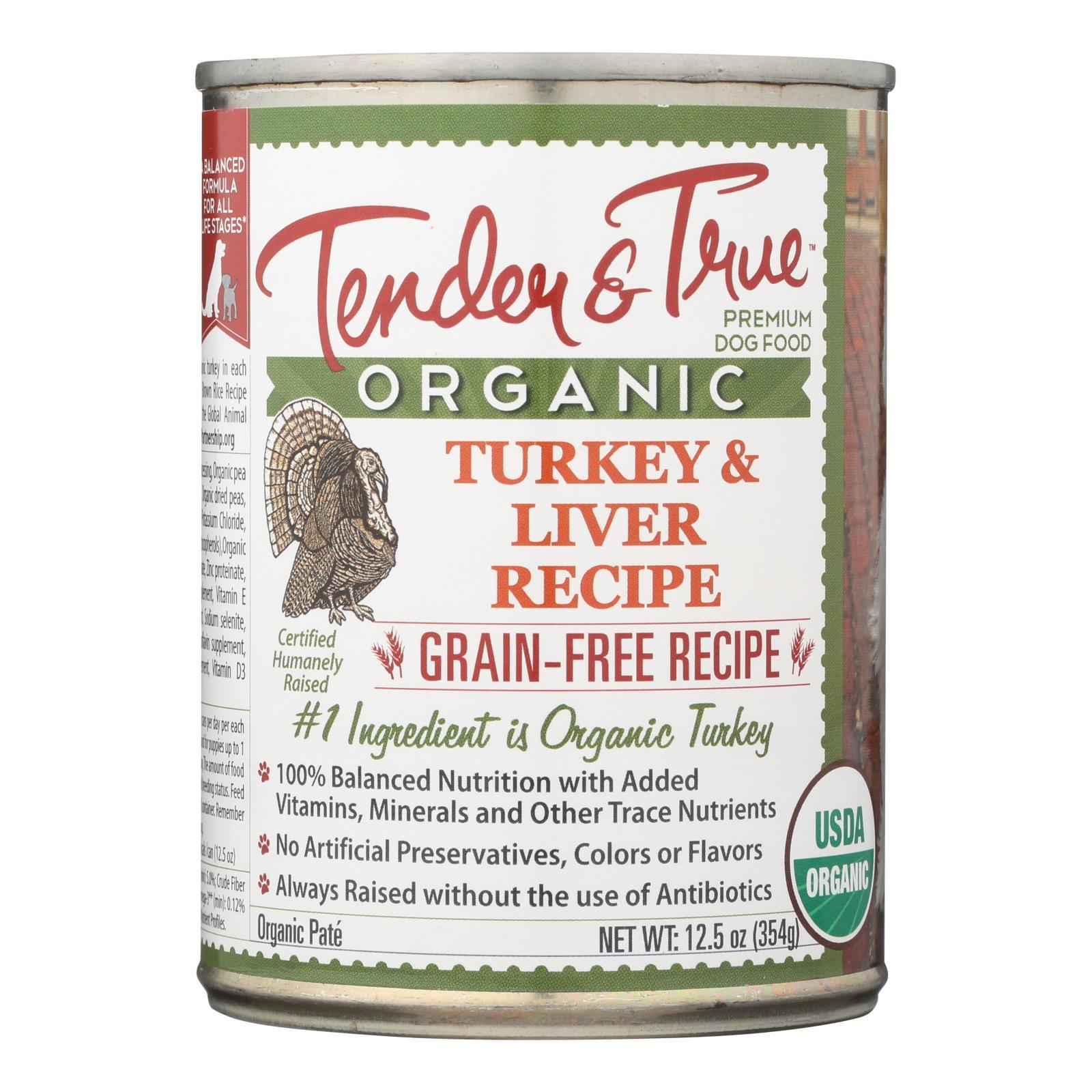 Tender & True Cat Food, Turkey And Liver - Case Of 12 - 12.5 Oz - BeeGreen