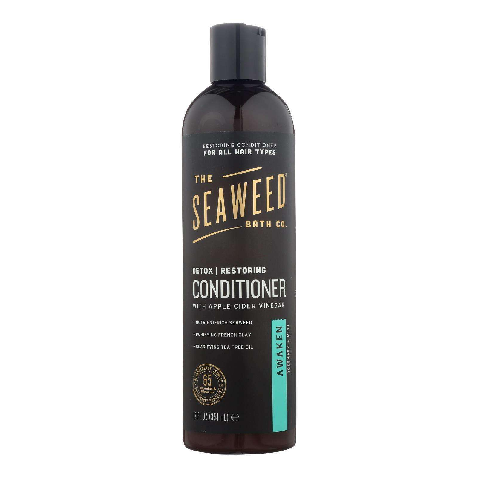 The Seaweed Bath Co - Awaken Restoring Detox Conditioner - 12 Fl Oz - BeeGreen