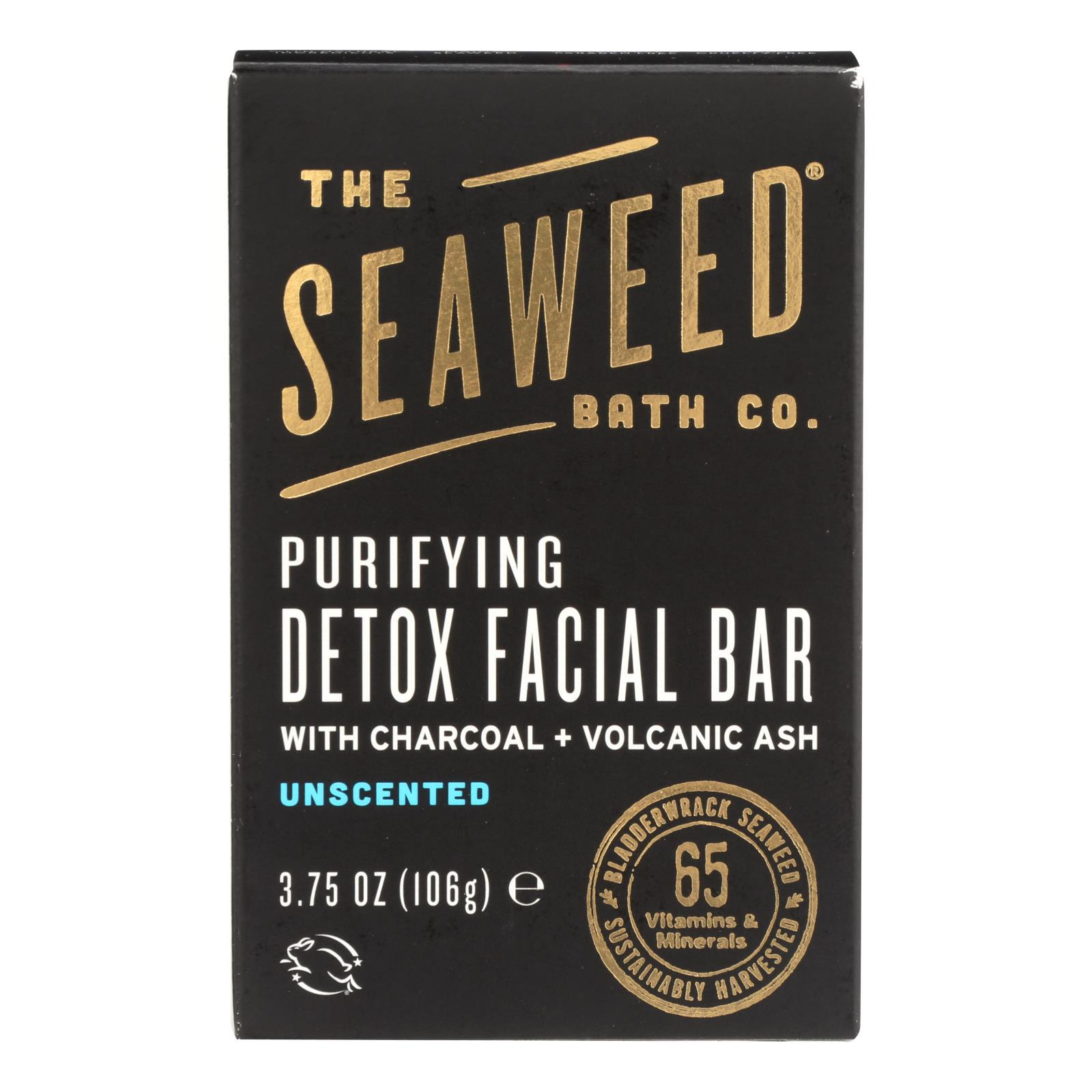 The Seaweed Bath Co Soap - Bar - Detox - Facial - 3.75 Oz - BeeGreen