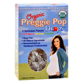 Three Lollies Organic Preggie Pop Drops - 12 Drops - BeeGreen