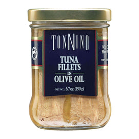 Tonnino Tuna Fillets - Olive Oil - Case Of 6 - 6.7 Oz. - BeeGreen