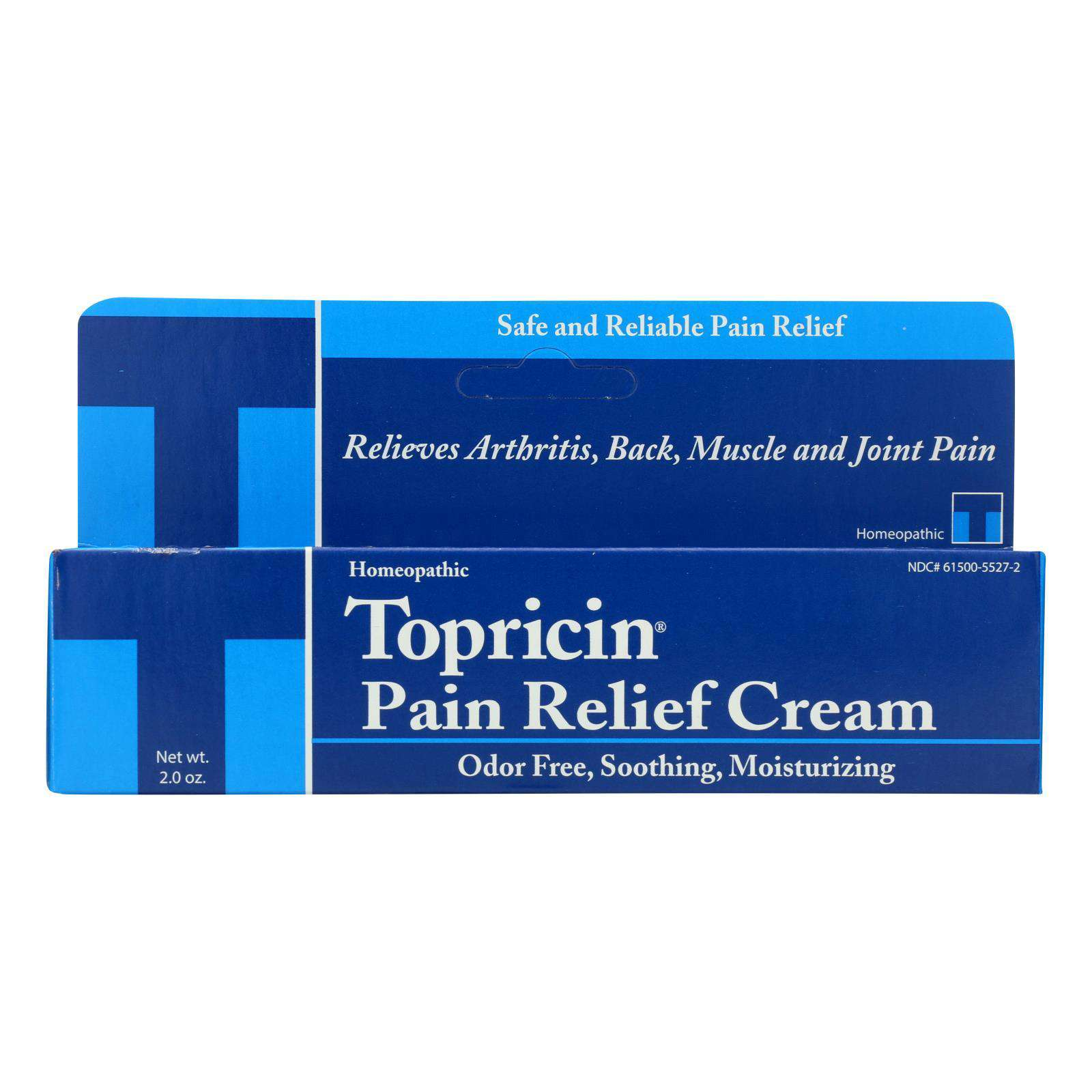 Topricin Anti-inflammatory Pain Relief Cream - 2 Oz - BeeGreen