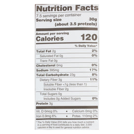 Unique Pretzels - Sprouted Grain Pretzels - Case Of 12 - 8 Oz. - BeeGreen