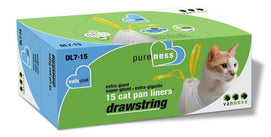 Van Nesst Drawstring Cat Pan Liner Value-Pack Extra-Giant - BeeGreen