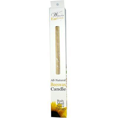 Wally's Beeswax Ear Candle (1x2 PK) - BeeGreen
