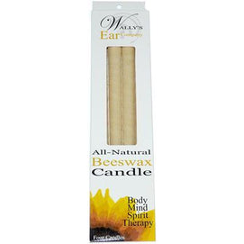 Wally's Beeswax Ear Candle (1x4 PK) - BeeGreen