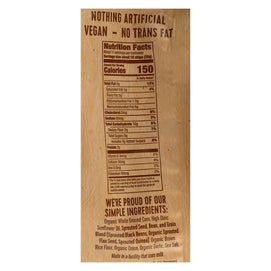 Way Better Snacks Tortilla Chip - Roasted Garlic & Black Bean - Case Of 9 - 11 Oz - BeeGreen