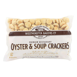 Westminster Cracker Co Oyster & Soup Crackers - Case Of 12 - 9 Oz - BeeGreen
