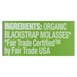 Wholesome Sweeteners Molasses - Organic - Blackstrap - Unsulphured - 16 Oz - Case Of 12 - BeeGreen