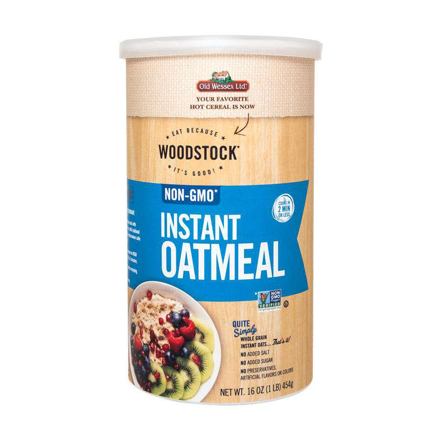Woodstock Instant Oats - 18.5 Oz. - BeeGreen