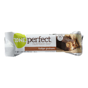 Zone - Nutrition Bar - Fudge Graham - Case Of 12 - 1.76 Oz. - BeeGreen