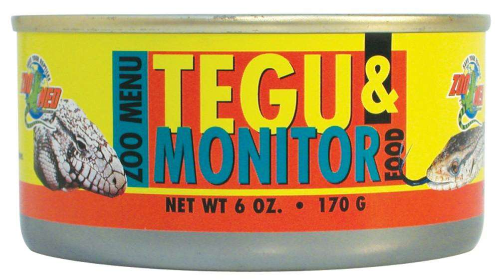 Zoo Med Tegu and Monitor Food can wet 6oz - BeeGreen