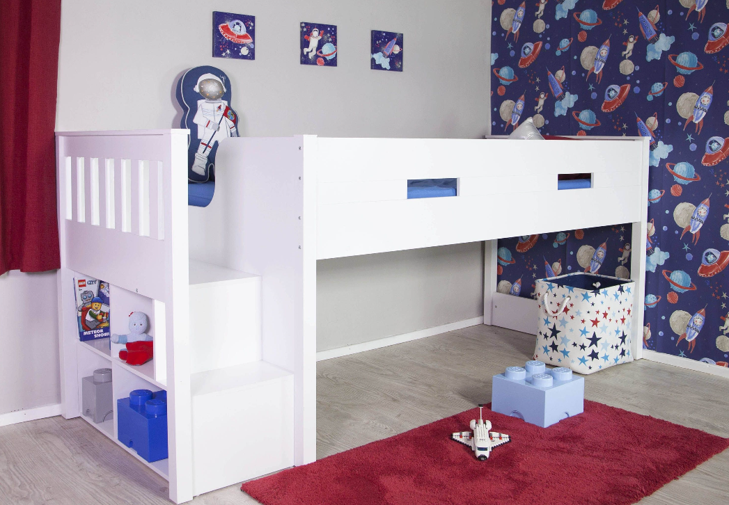 Flair Furnishings Charlie Mid Sleeper Frame Only